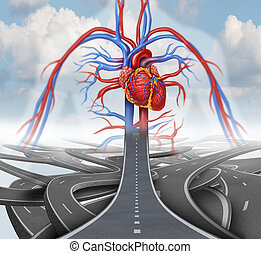 Road To Health - Road to health medical health care concept ...