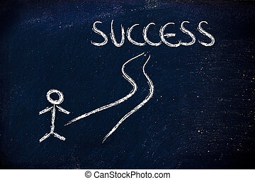 road to individual success