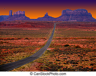 Monument Valley - Road to Monument Valley