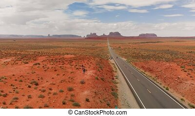 Road to Monument Valley, USA