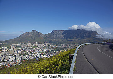 Road to Table Mountain