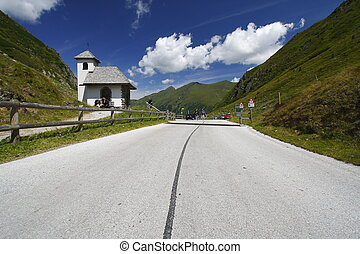 Road to the mountains - Austria the road going to the...