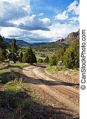 Road to West Hunt Creek
