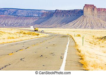 road transport, Colorado, USA