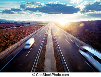 Road transport.
