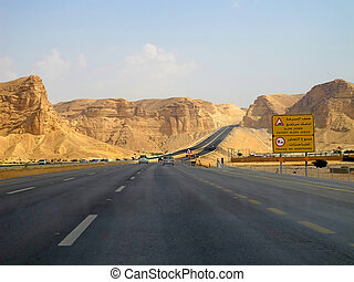 Road trough the Desert - Road trough the desert...