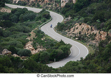 road with curves