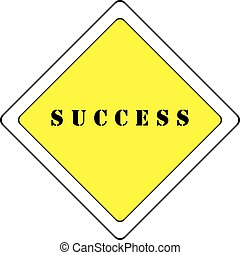 ROAD WITH PRIORITY TO SUCCESS