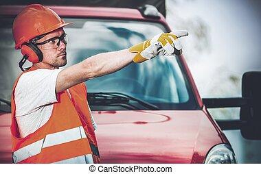 Road Work Supervisor