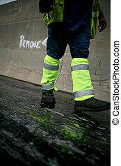 Road worker