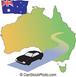 roads of Australia