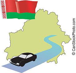 roads of Belarus