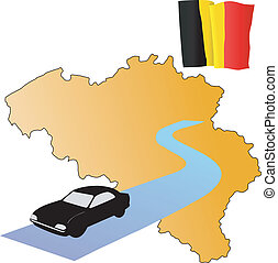 roads of Belgium