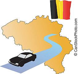 roads of Belgium