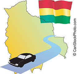 roads of Bolivia