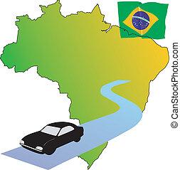 roads of Brazil