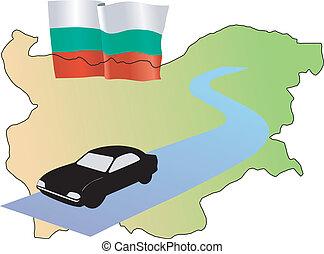 roads of Bulgaria