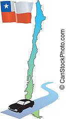 roads of Chile