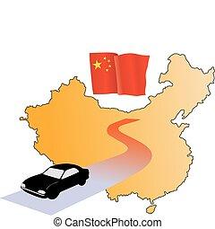 roads of China