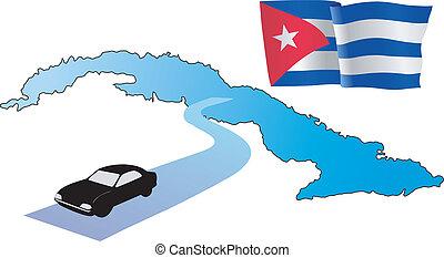 roads of Cuba