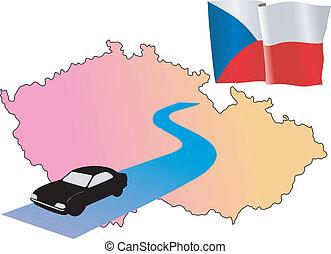 roads of Czech Republic
