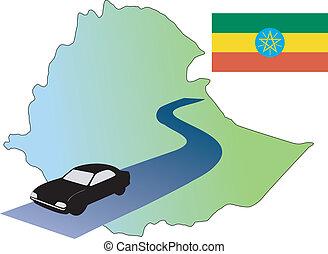 roads of Ethiopia