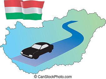 roads of Hungary