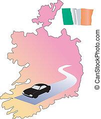 roads of Ireland