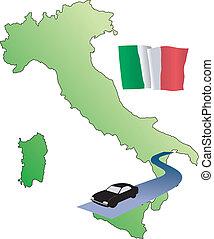 roads of Italy