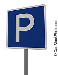 roadsign parking