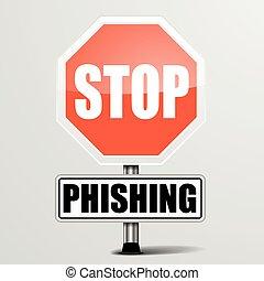 Roadsign Stop Phishing