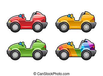Roadster - illustration of cars.