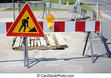 Roadworks