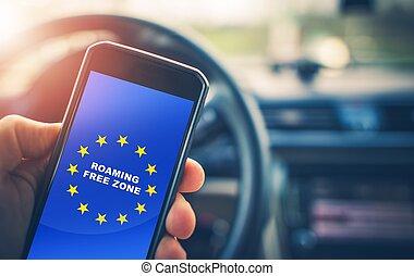 Roaming Free Euro Zone