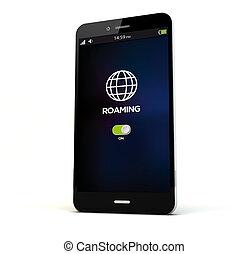 roaming phone