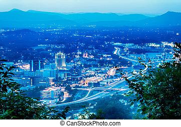 roanoke, montagna, intorno, stati uniti, virginia, scenics,...