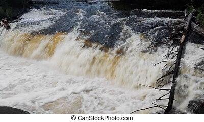 Roaring River Rapids Loop - Seamless loop features a...