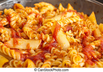 roast with the pasta
