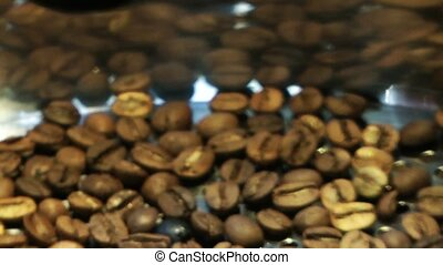 Roasted Coffee Beans Hot Drink