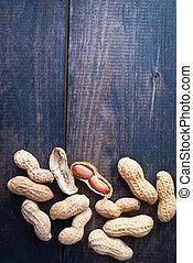 Roasted peanuts frame