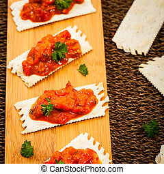 Roasted Pepper Appetizer
