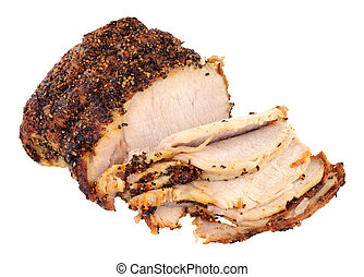 Roasted Peppered Pork Joint - Roasted peppered pork joint...