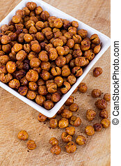 Roasted Seasoned Chick Peas