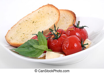 roasted tomato appetizer