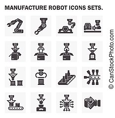 robô, ícone