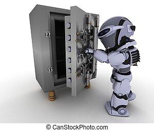 robô, com