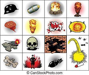 robbanások