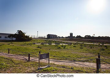 Robben Island Prison Grounds - The grounds of Robben Island...