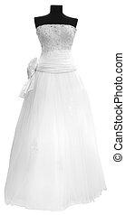 robe blanche, mariage