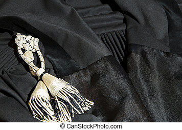 Robe Lawyer - Black robe of Lawyer.